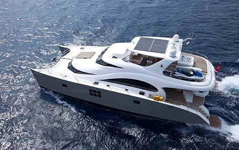 Damrak Sunreef Catamaran 4