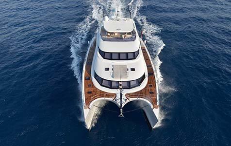 Damrak Sunreef Catamaran 2