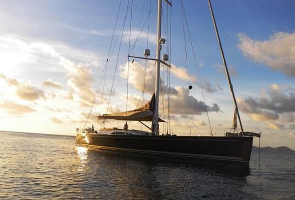 Nautor's Swan Yacht 90'