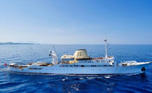 Carta de Superyacht Christina O