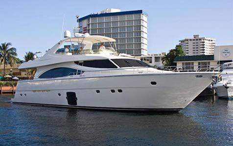 Carta de Superyacht Unforgettable