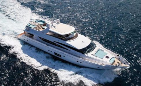 Cristobal Princess Yachts 1