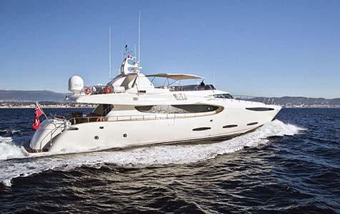Location de yacht de luxe Mabruk III