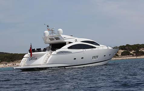 Jax of Ibiza Sunseeker 1