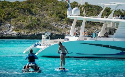 BLUE GRYPHON Prout Catamaran 3