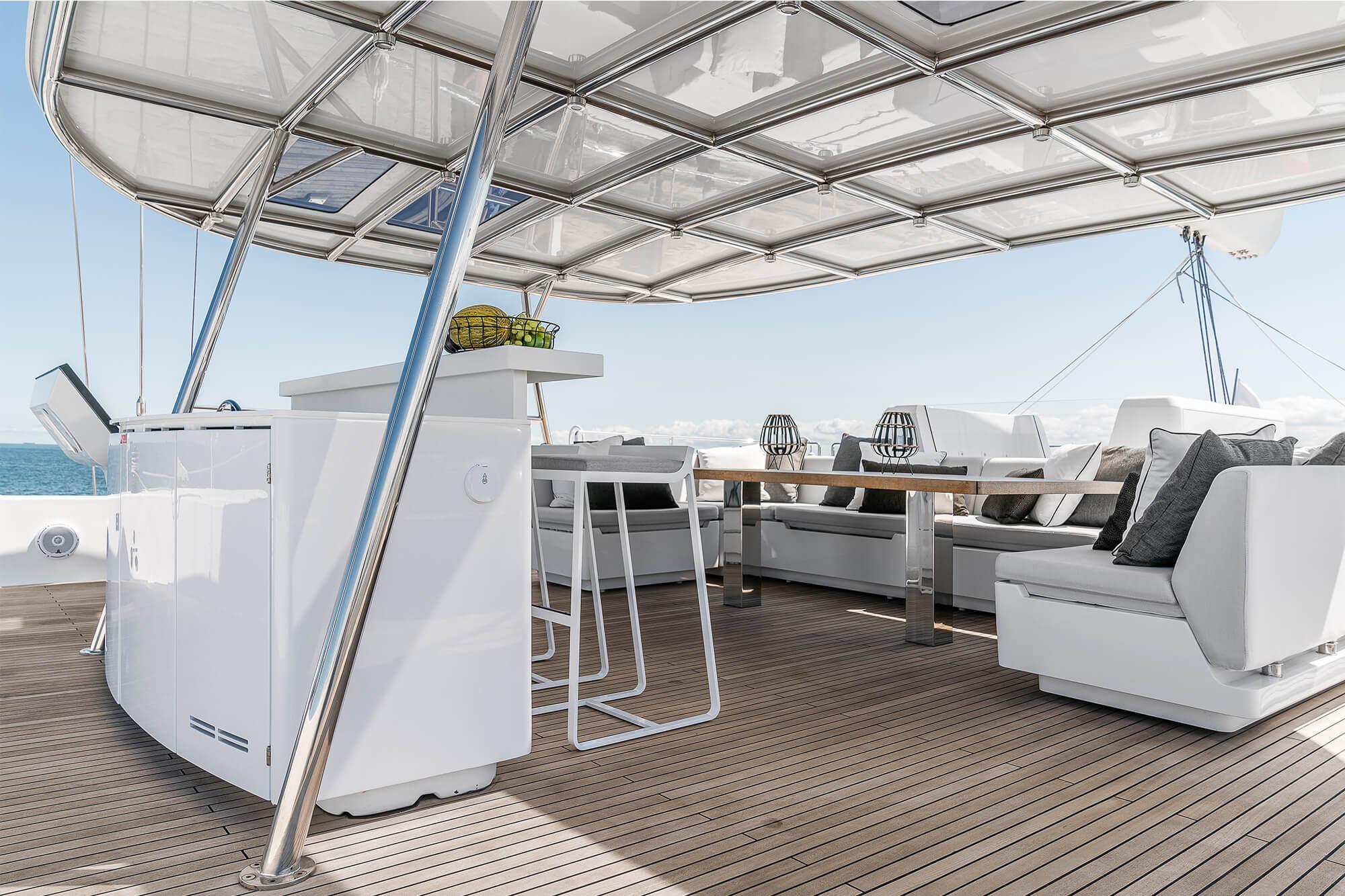 ABOVE Sunreef Catamaran 3
