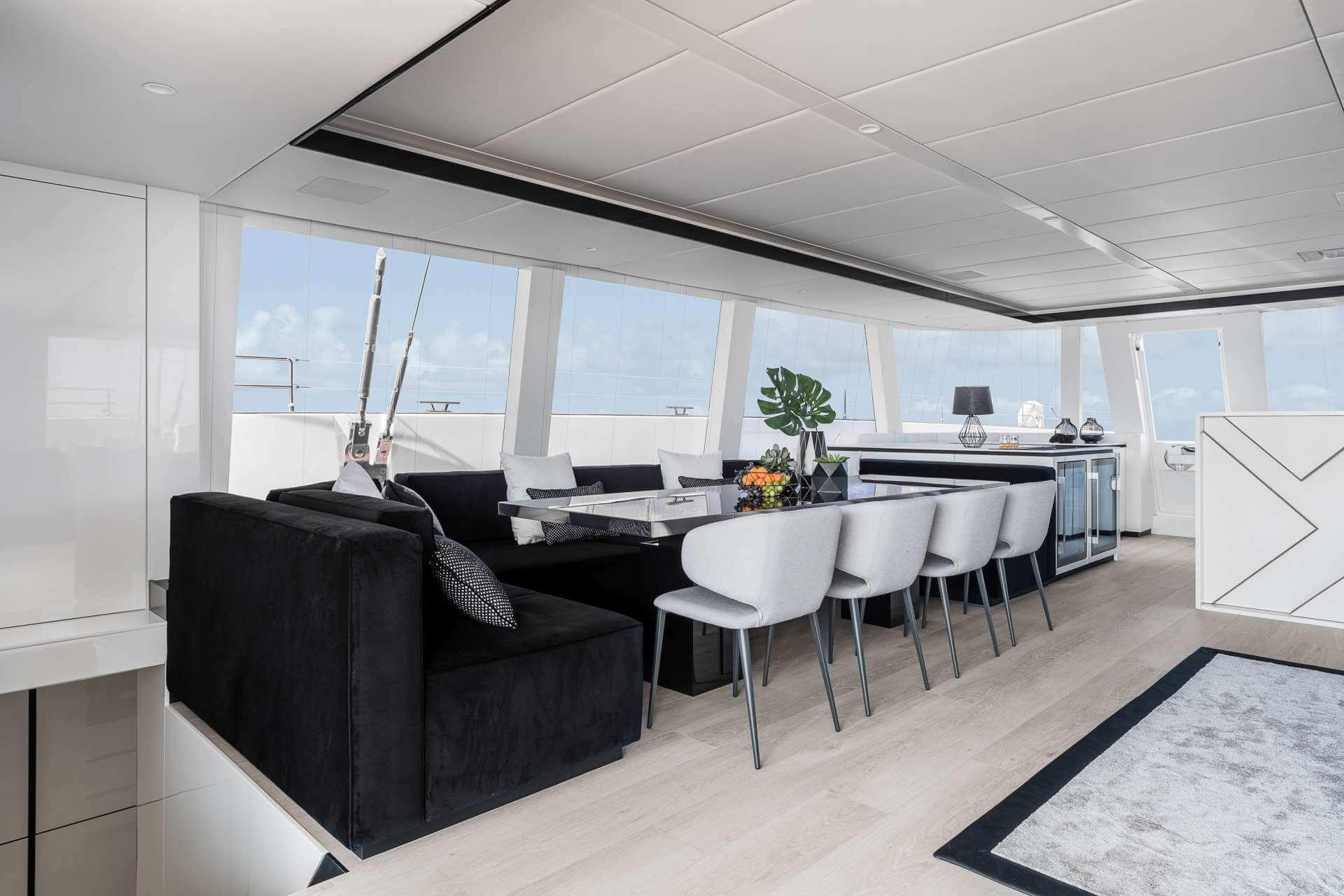 ABOVE Sunreef Catamaran 6