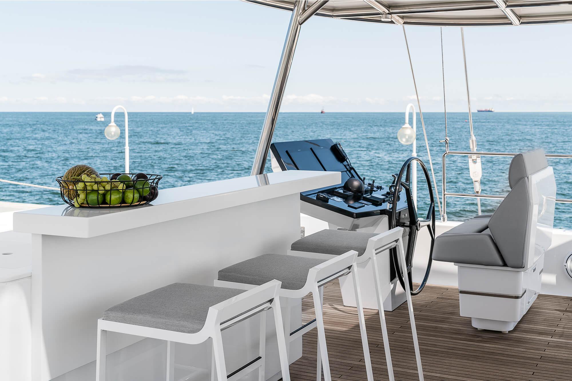 ABOVE Sunreef Catamaran 7