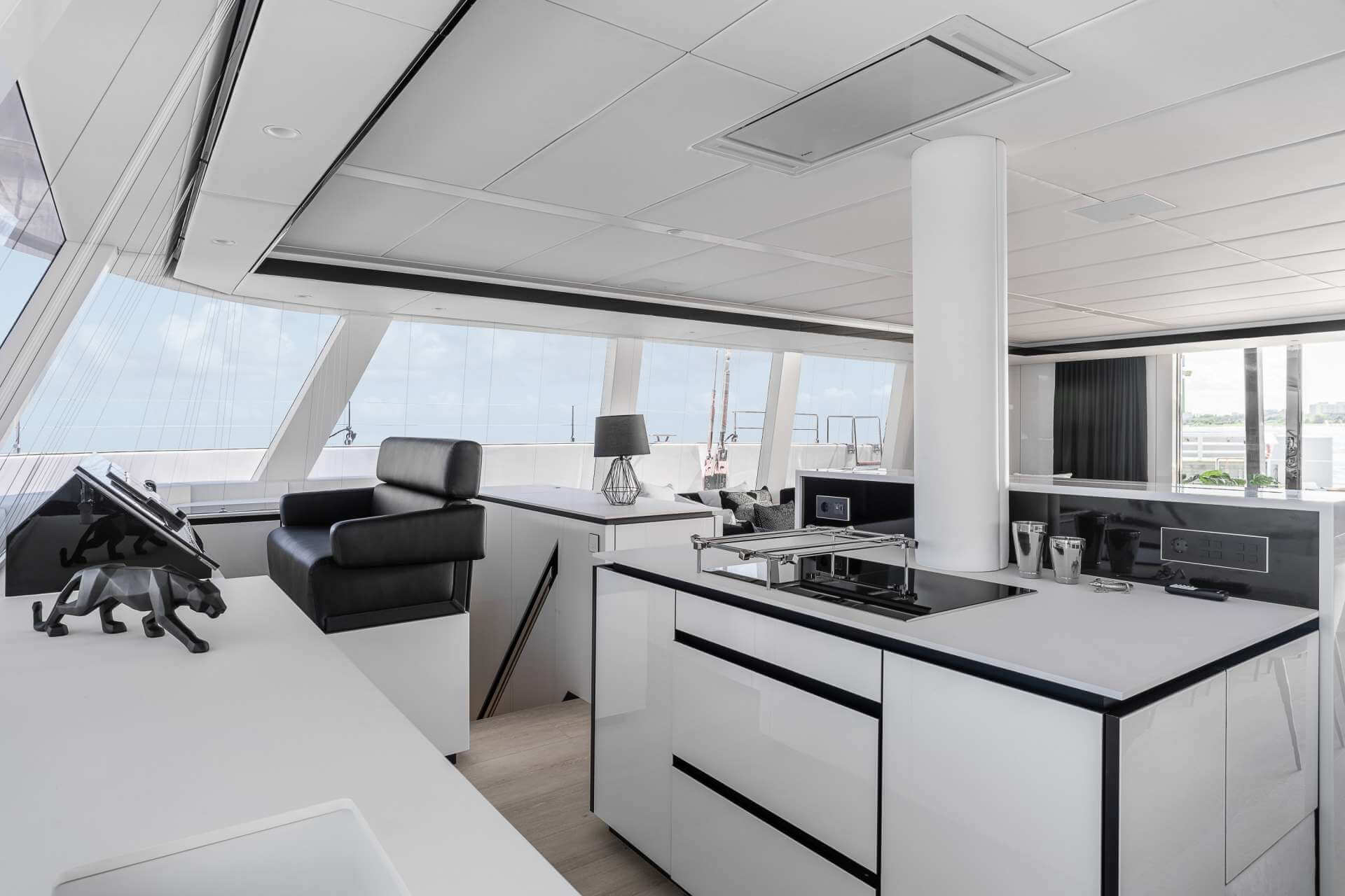 ABOVE Sunreef Catamaran 9