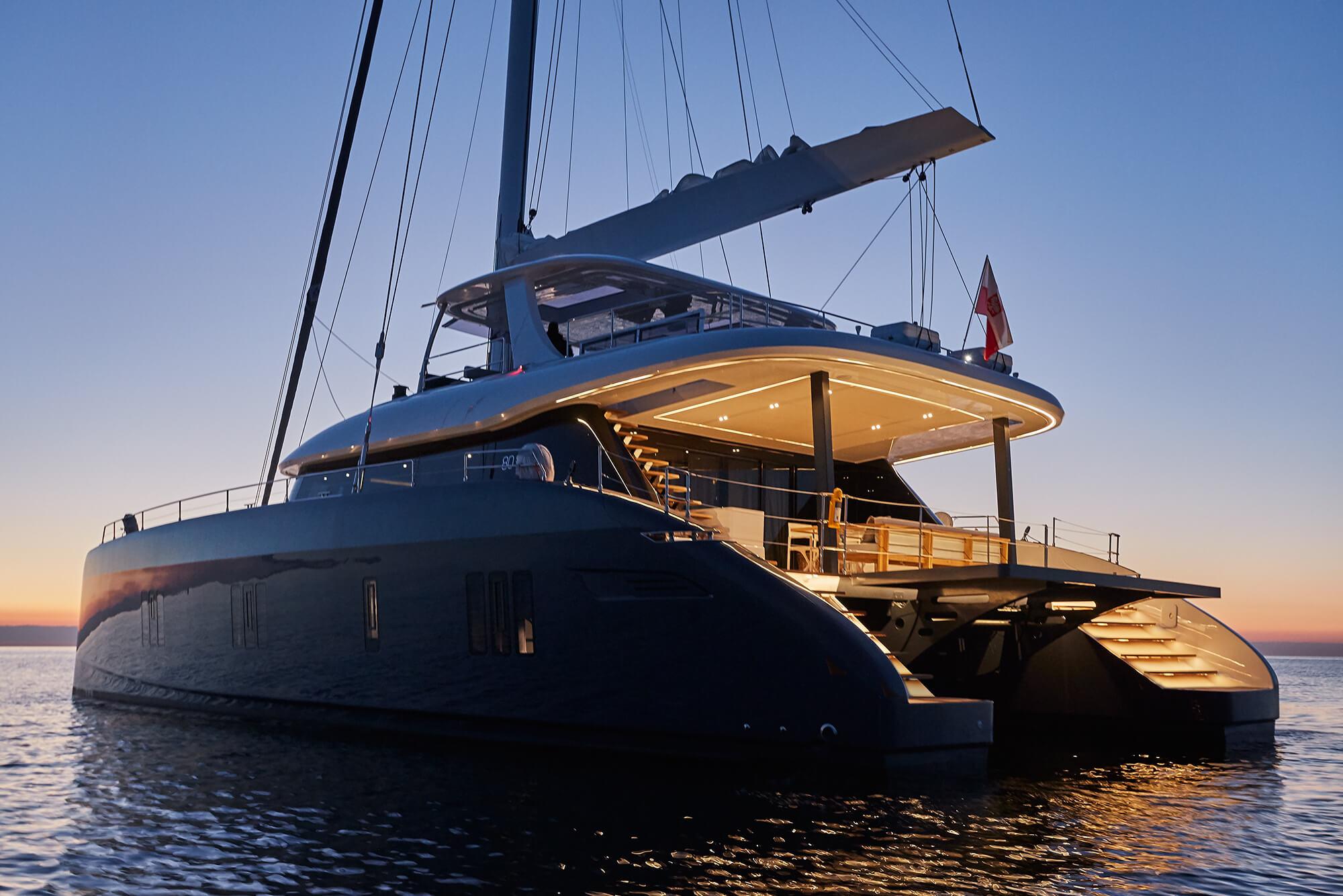 ABOVE Sunreef Catamaran 2