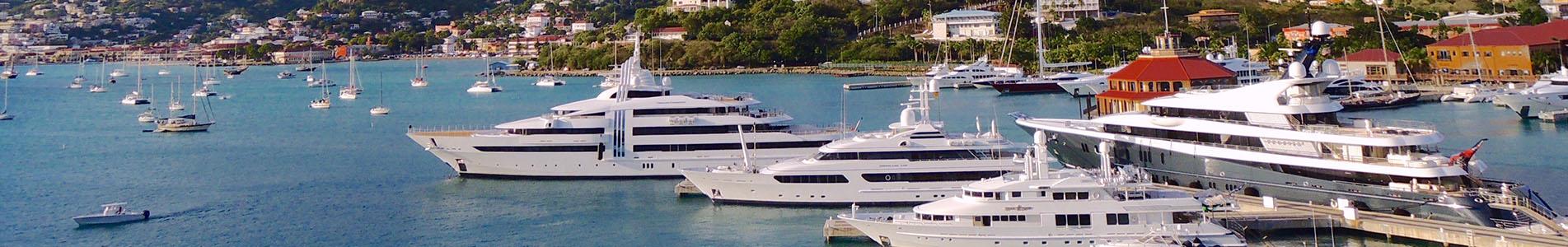 Superyachtcharter karibik