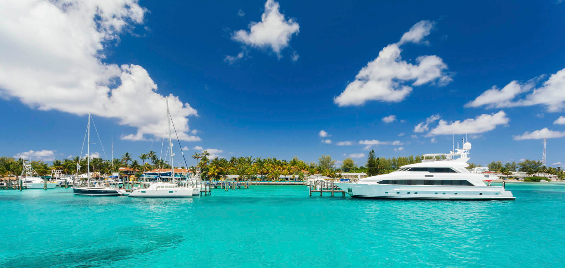 Charter de Superyacht Bahamas
