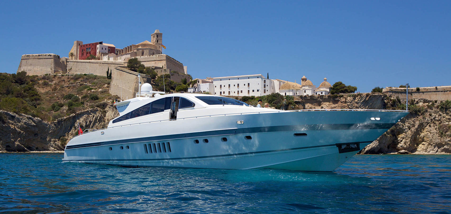 Superyacht charter Baleares
