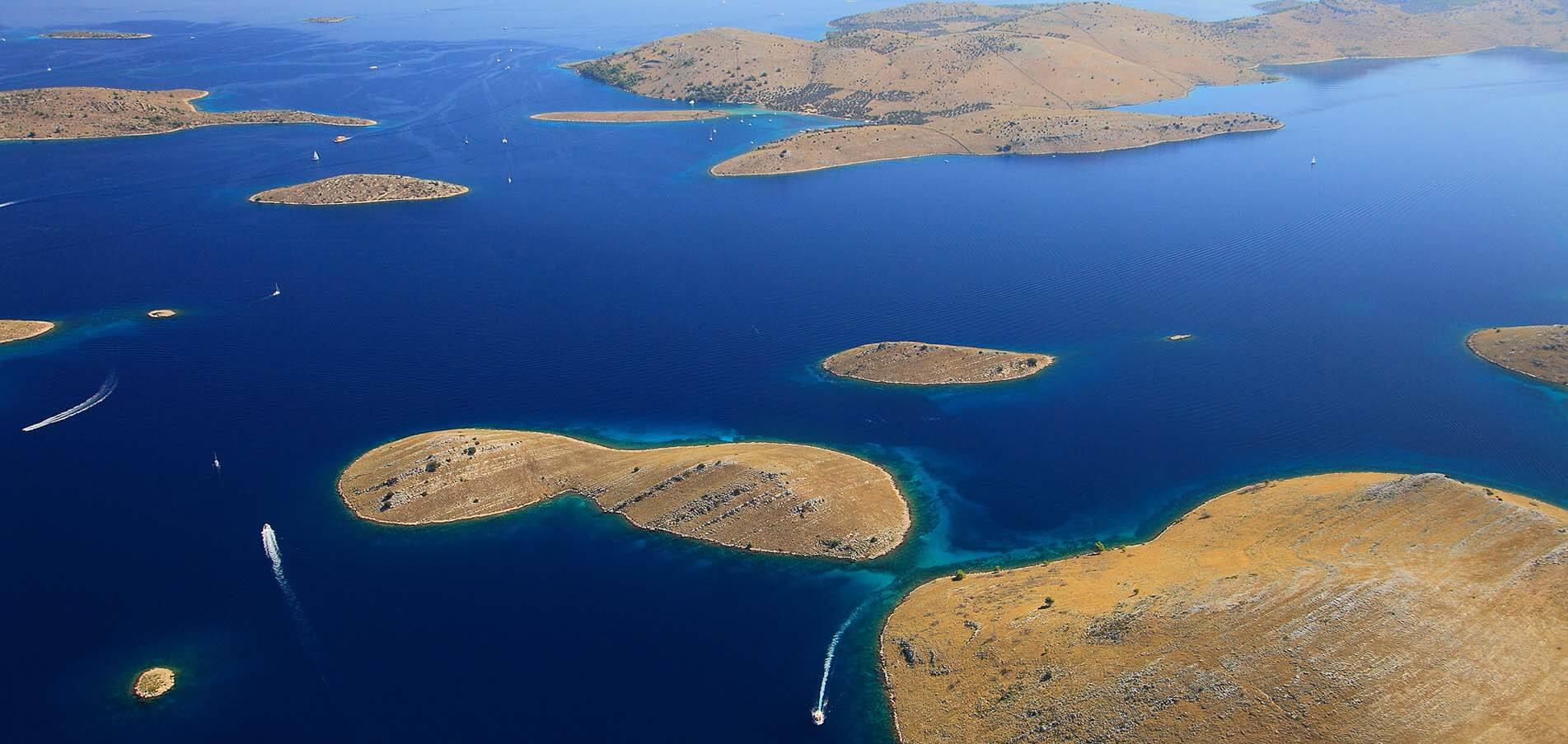 Superyacht charter Kornati