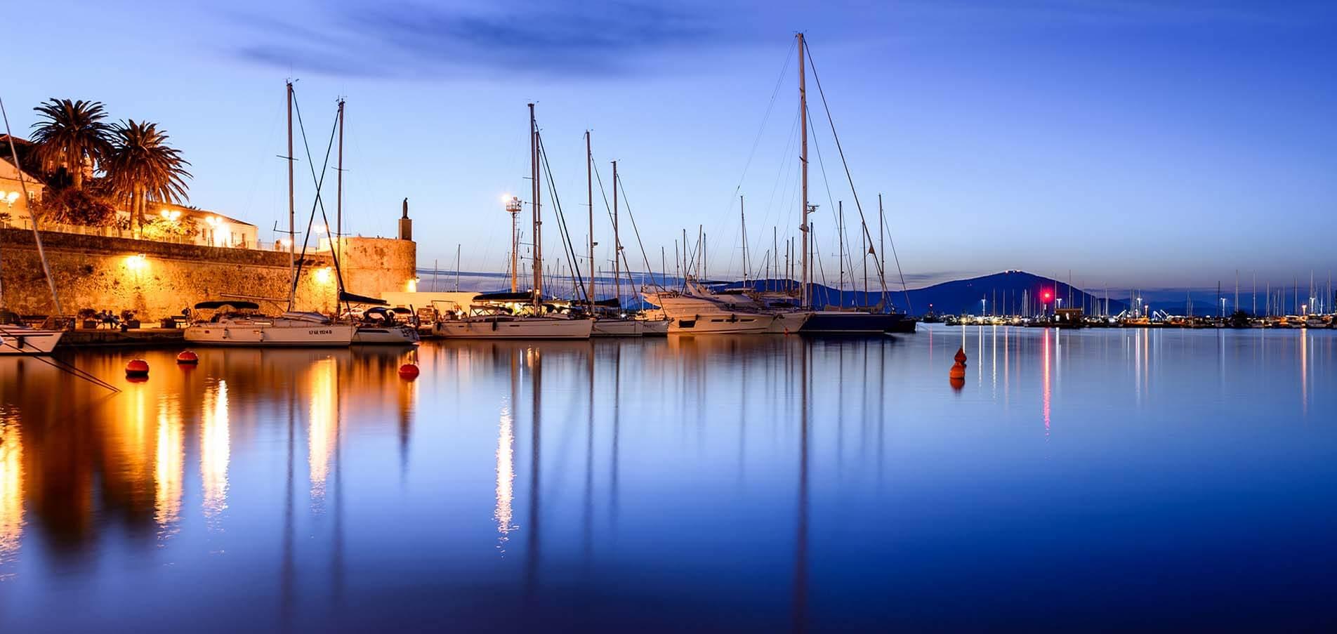 Superyacht charter Sardinia