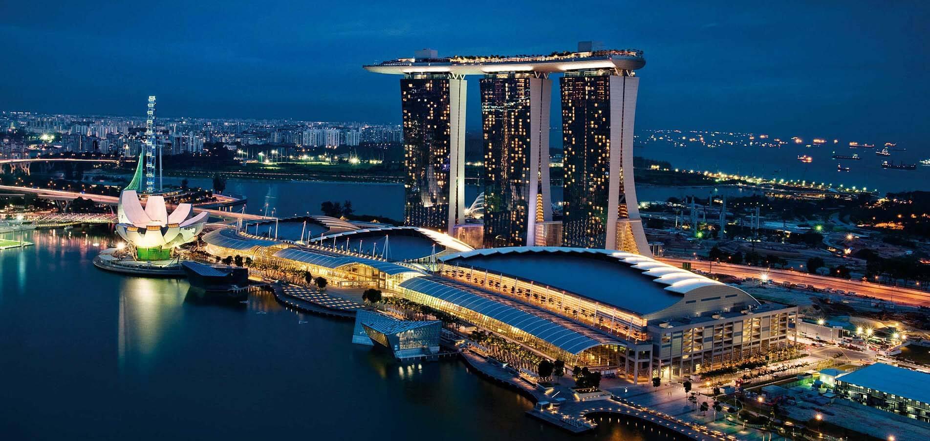 Superyacht charter Singapura