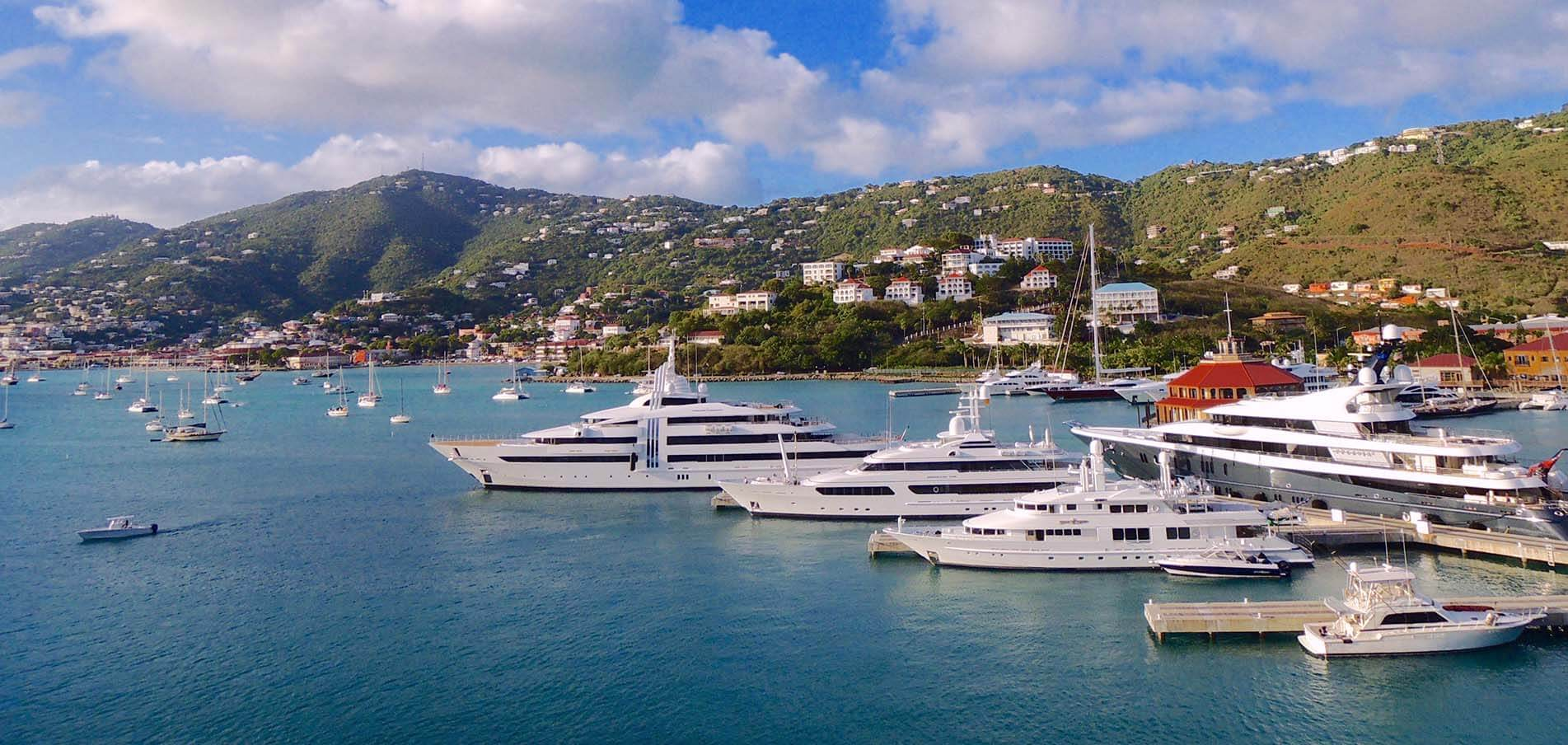 Superyacht charter Virgin Islands
